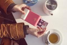 可打印照片的智能手机保护套 让你的手机瞬间华丽变身拍立得相机