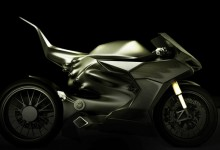 环保与速度并存 酷炫混合动力摩托车