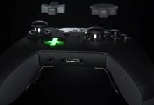 键盘车神新装备:微软Xbox One精英版手柄