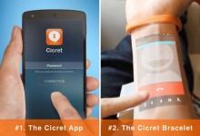 太酷了!智能腕带让你获得手机新玩法 手臂变成屏幕
