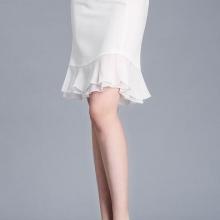 OL气质显瘦百搭鱼尾裙包臀半身裙
